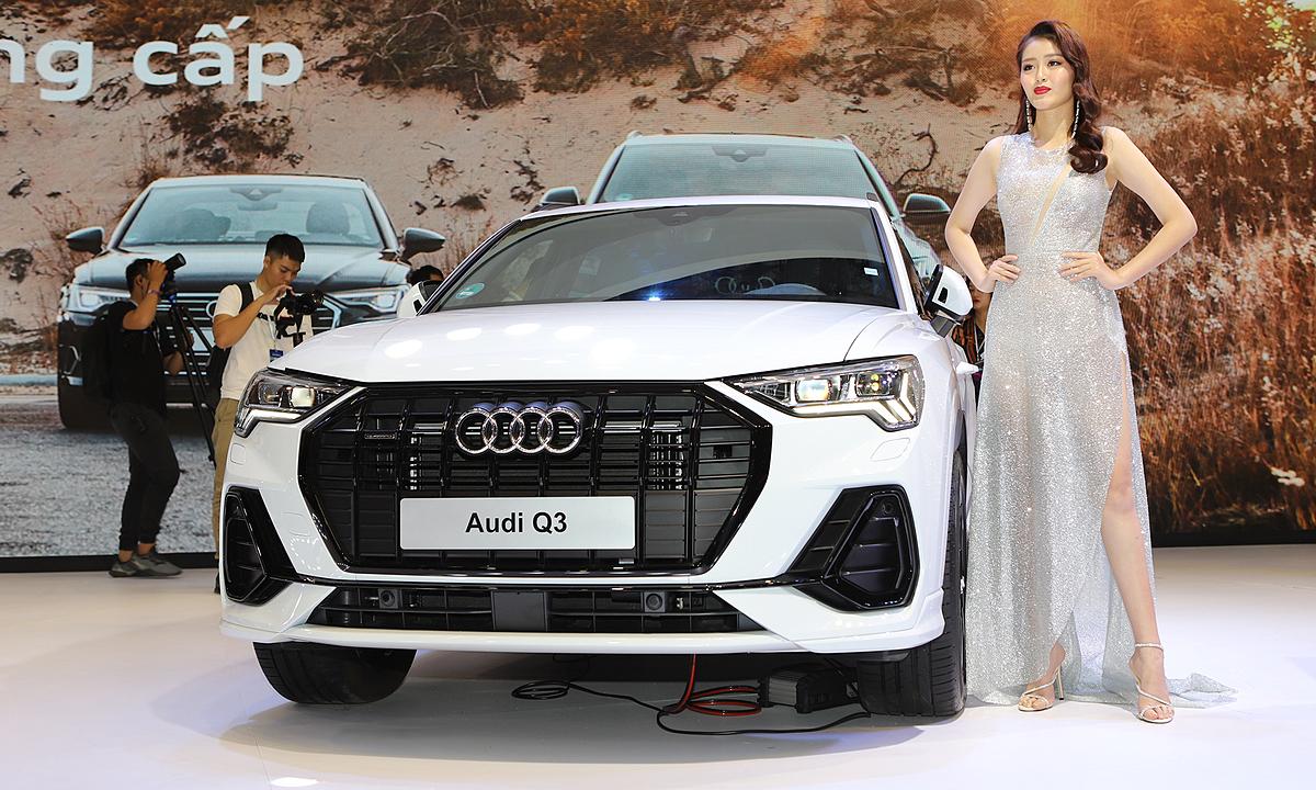 Audi Q3 ra mắt tại triển lãm ôtô Việt Nam 2019. Ảnh: Lương Dũng