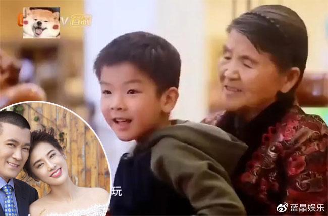 Nhà Dương Tử - chồng Huỳnh Thánh Y - chiều đứa cháu trai Andy hết mực.