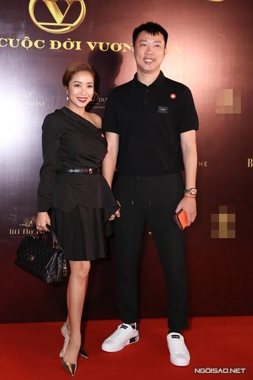 Vợ chồng diễn viên - MC Ốc Thanh Vân.
