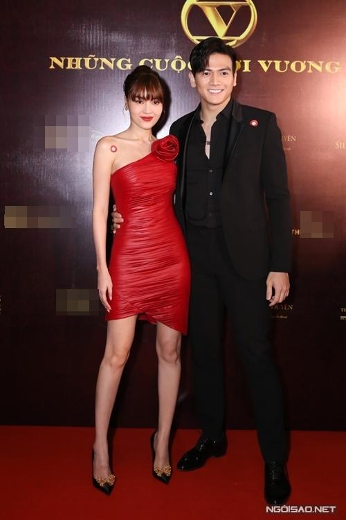 Diễn viên Ninh Dương Lan Ngọc xuất hiện giữa tin đồn lộ clip sex. Cô đi chung cùng người mẫu Lê Xuân Tiền.