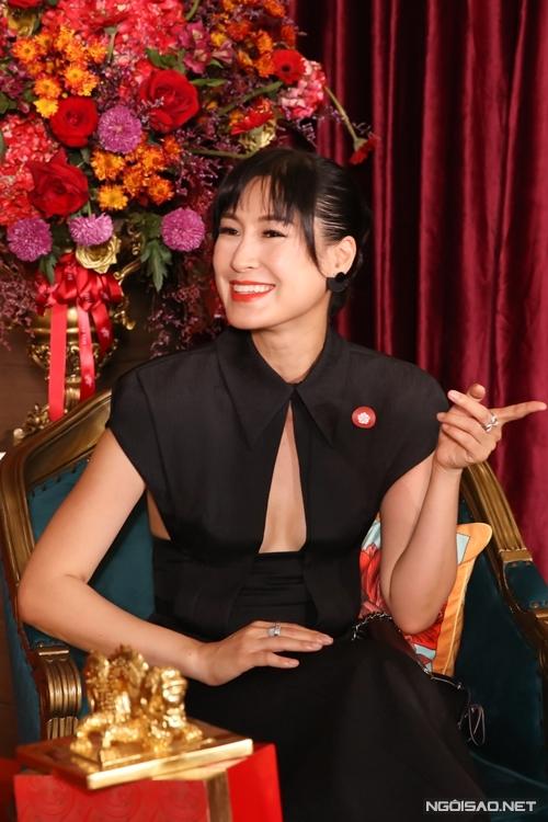 Diễn viên - đạo diễn Kathy Uyên.