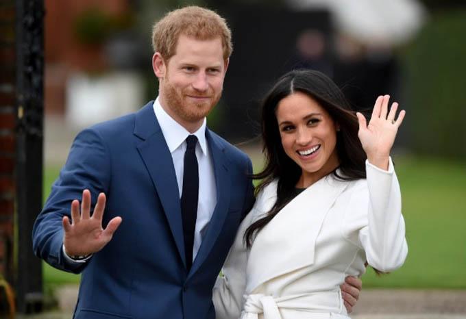 Vợ chồng Hoàng tử Harry xác nhân vĩnh viễn không quay trở lại hoàng gia hồi tháng trước và đã bị Nữ hoàng tước mọi vai trò danh dự và quyền bảo trợ. Ảnh: EPA.