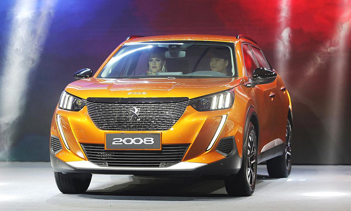 Peugeot 2008 tại lễ ra mắt hồi cuối năm 2020. Ảnh: Đắc Thành