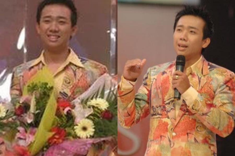 Năm 19 tuổi, Trấn Thành đoạt giải Ba cuộc thi Én vàng 2006, trở thành bước đệm cho anh theo đuổi nghệ thuật và hoạt động MC chuyên nghiệp. Vì đứng trên sân khấu lớn, anh thường diện suit khiến mình trông phần già dặn hơn trước tuổi.