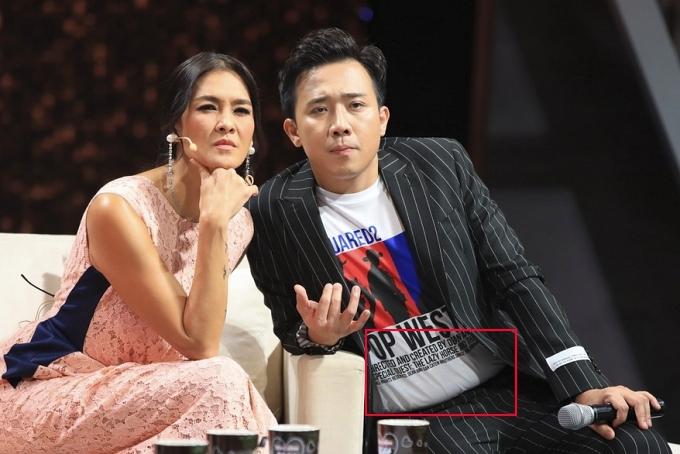 Song giai đoạn 2019-2020, Trấn Thành được nhận xét mũm mĩm vì tăng cân. Anh nhiều lần bị soi bụng mỡ trong nhiều show và trở thành đề tài bình luận của các đồng nghiệp trên sóng truyền hình.