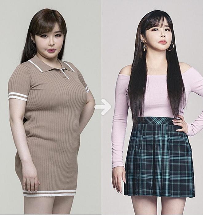 Cô nàng đã giảm 11 kg, lột xác ngoạn mục.