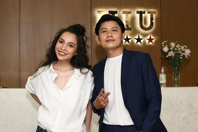 Hiền Thục và nhạc sĩ Nguyễn Văn Chung - người sáng tác ca khúc Nhật ký của mẹ gắn liền với tên tuổi của nữ ca sĩ.