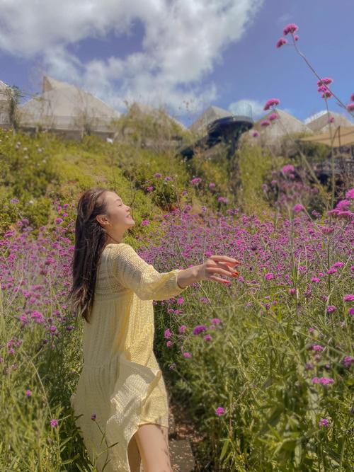 Muốn có được sự tự do và thoải mái như Minh Hằng thì các nàng có thể tham khảo các mẫu đầm suông không kén dáng.