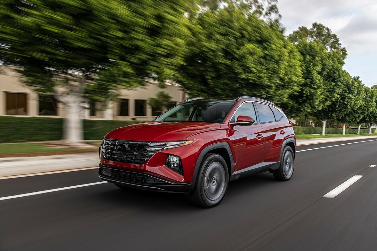 Hyundai Tucson 2021 với nhiều thay đổi ở thiết kế ngoại thất.