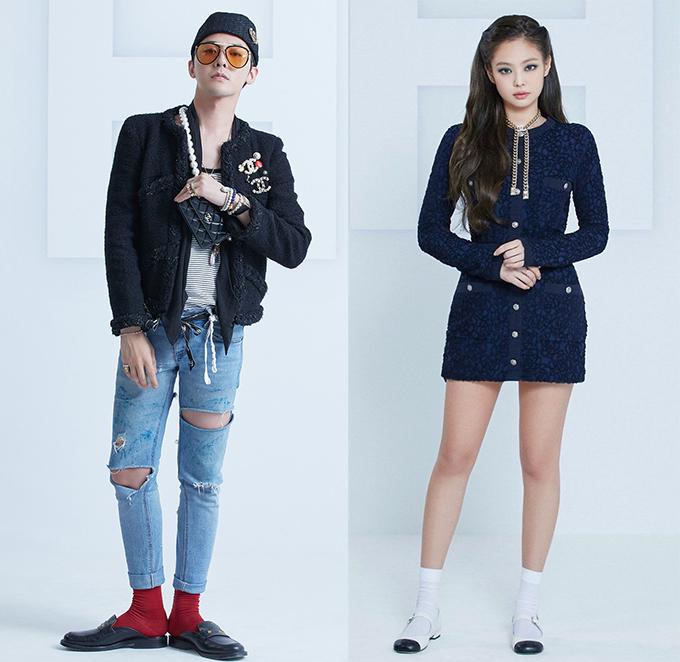 Fan thời trang điên đảo vì hai Chanel sống G-Dragon - Jennie hẹn hò - 2