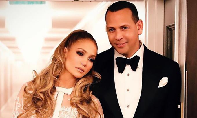 Jennifer Lopez và Alex Rodriguez.