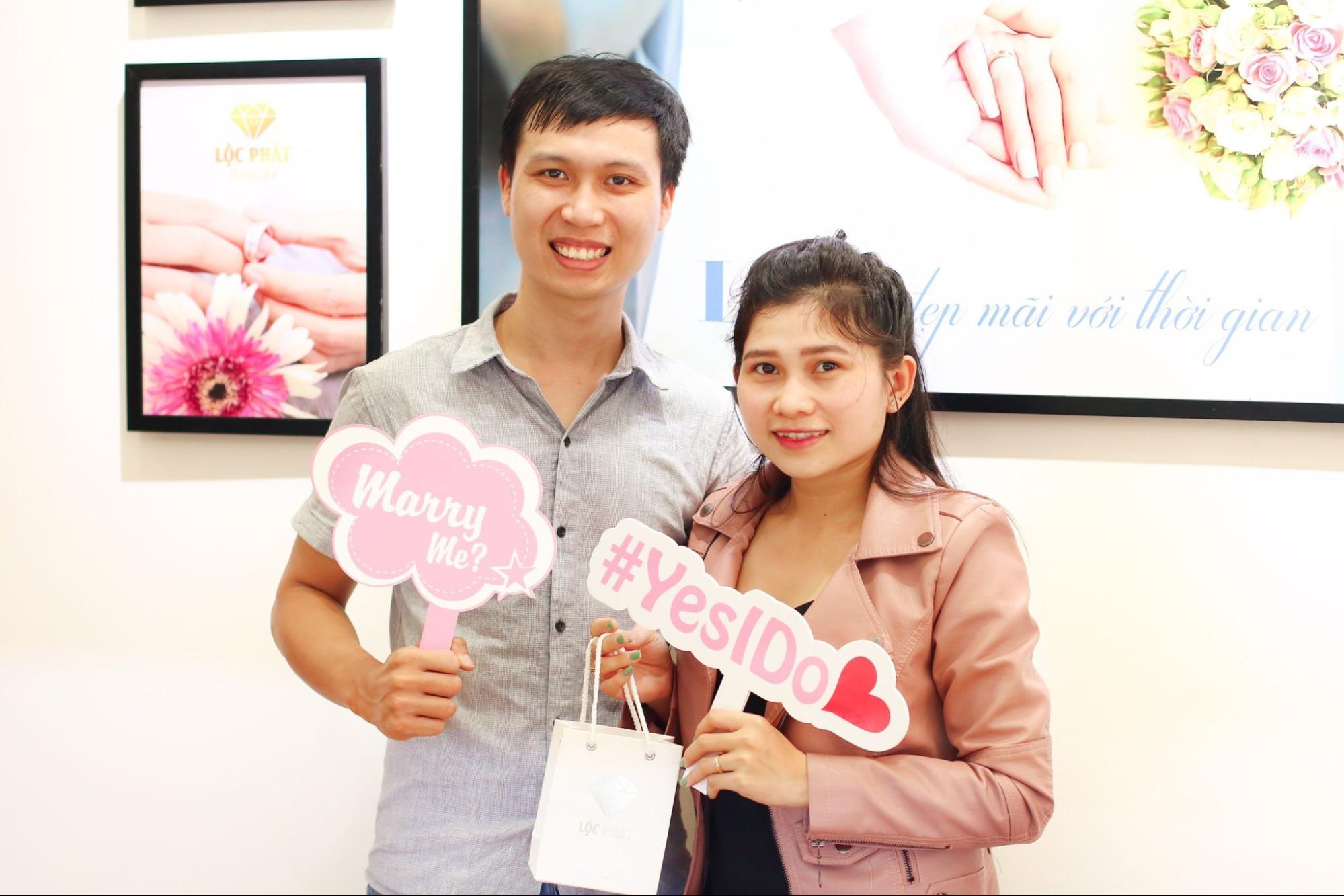 BST nhẫn cưới Forever Love của Lộc Phát Jewelry