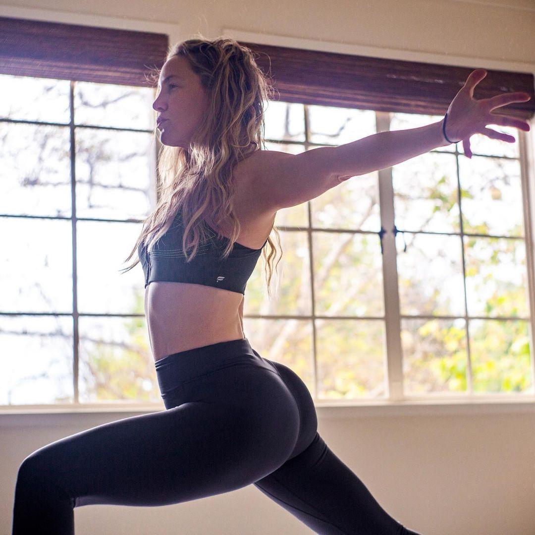 Bà mẹ 3 con đến phòng tập pilates từ năm 19 tuổi.