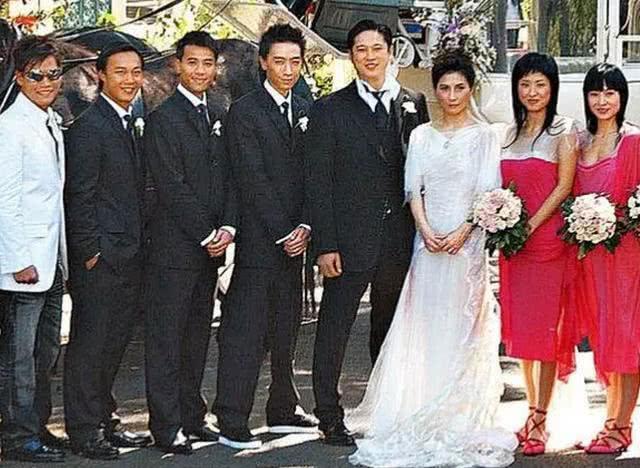 Đám cưới cặp đôi năm 2003.