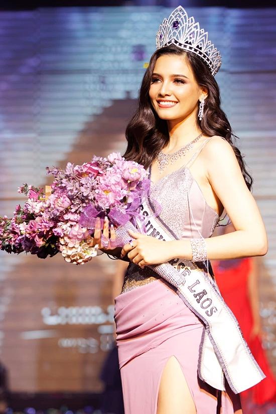 Năm nay, cuộc thi Hoa hậu Hoàn vũ Lào không tổ chức mà lựa chọn từ những người đẹp nổi trội trong nước. Tối 18/3, Christina Lasasimma chính thức được trao danh hiệu và vương miện hoa hậu.