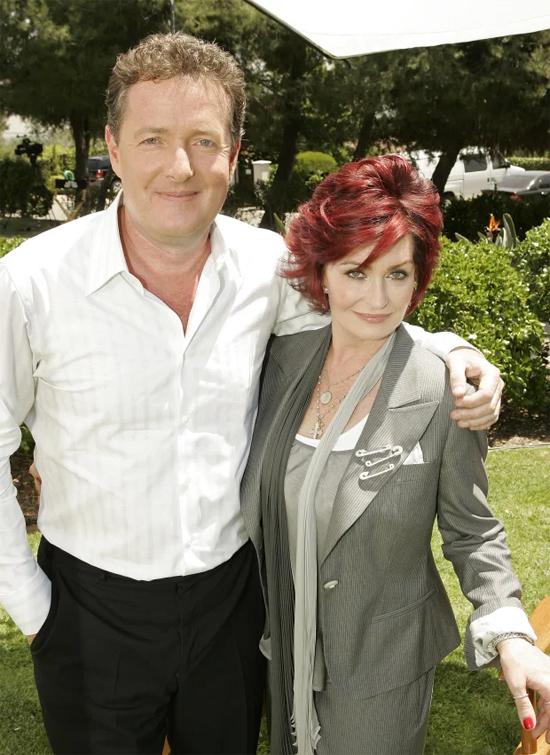 Piers và Sharon là bạn bè thân thiết nhiều năm, cùng là những người dẫn chương trình truyền hình nổi tiếng tại Anh.