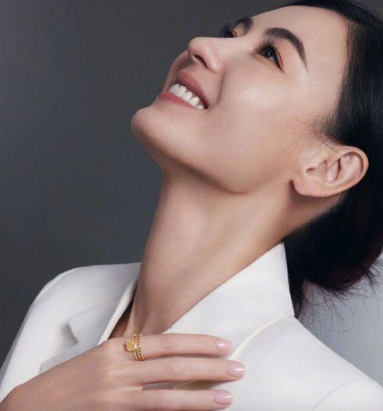 Bá Chi trên tạp chí thời trang.