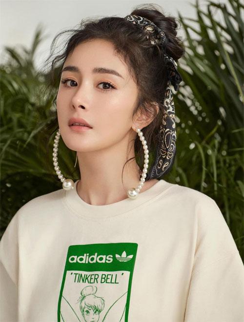 Hình ảnh quảng cáo mới của Dương Mịch.