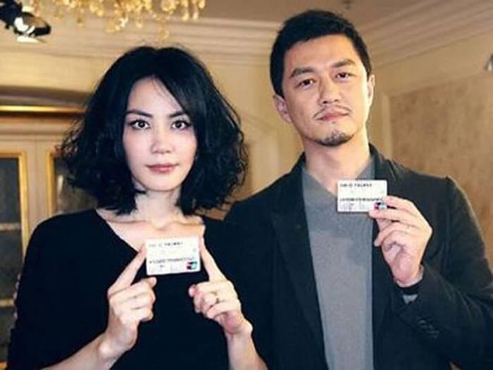 Lý Á Bằng và vợ cũ - Vương Phi.