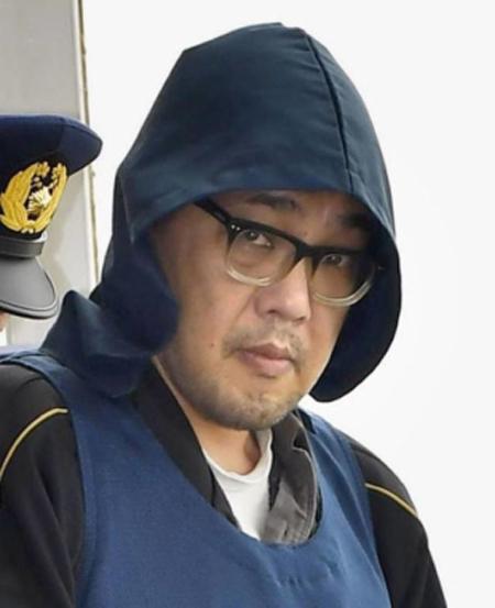 Yasumasa Shibuya, thủ phạm sát hại dã man bé Nhật Linh năm 2017. Ảnh: Kyodo.