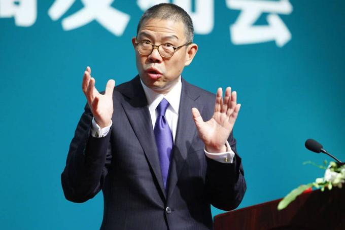 Doanh nhân Zhong Shanshan, người giàu nhất châu Á. Ảnh: SCMP.