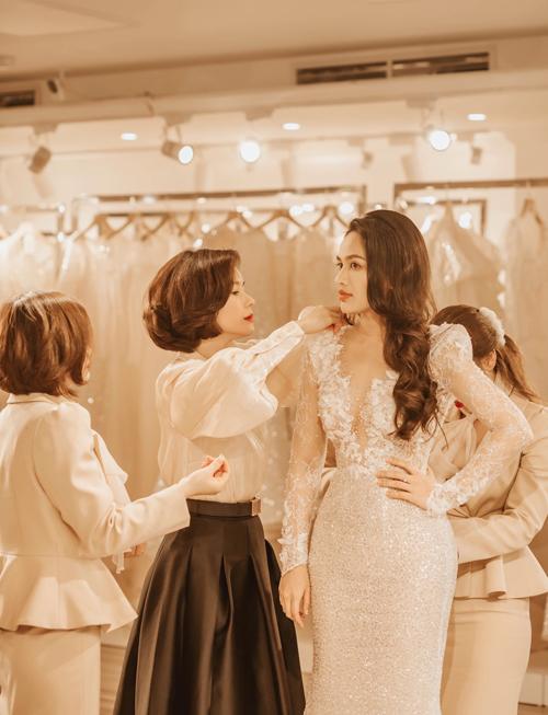 Chú rể bí mật tìm NTK váy cưới cho một nửa của mình - 8