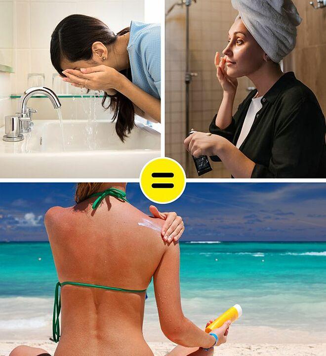 Làn da được cấp ẩm đầy đủ sẽ khỏe mạnh, giảm tác hại từ ánh nắng mặt trời.