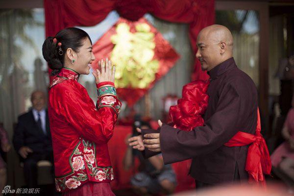 Đám cưới Trương Vũ Kỳ và đạo diễn Vương Toàn An năm 2011.