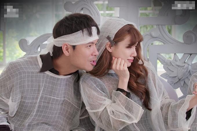 Trương Thế Vinh và Nhã Phương có nhiều cảnh diễn chung với nhau trong phim.