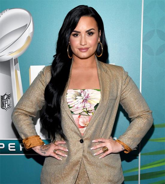 Ca sĩ Demi Lovato.