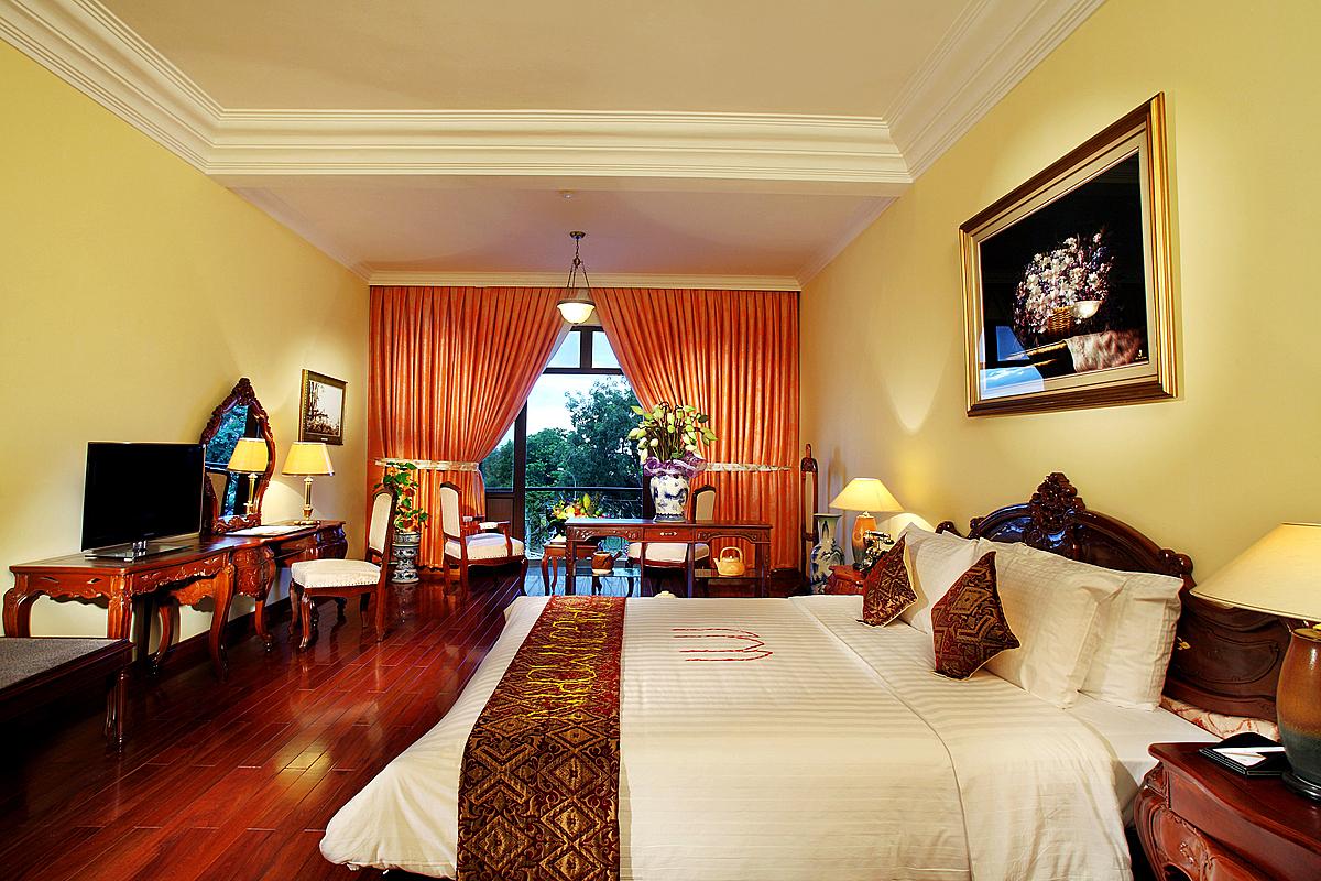 Khách sạn Sài Gòn - Morin (Huế) khuyến mãi sâu chỉ từ 899.000 đồng một phòng một đêm.