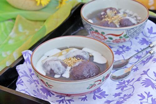 7 món đẹp và ngon từ khoai lang tím - 2