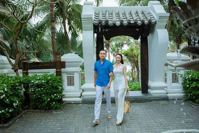 Lý Thùy Chang nói ông xã Chi Bảo là món quà giành cho mình.