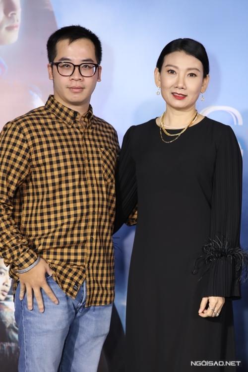 NSƯT Mỹ Uyên và đạo diễn Nguyễn Hữu Hoàng.