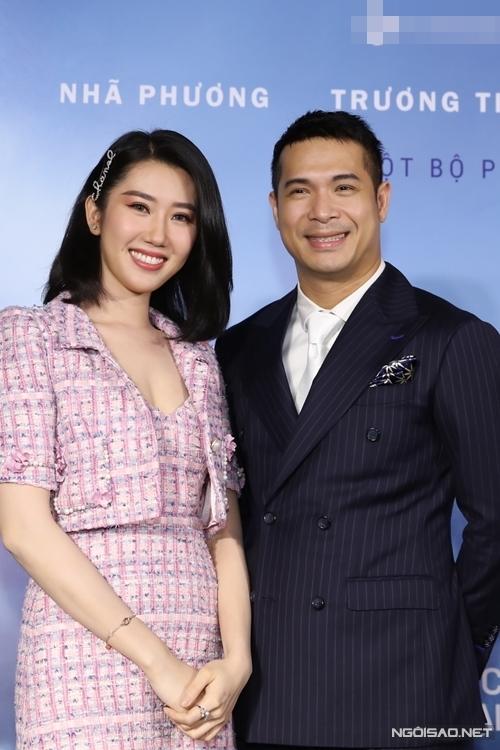 Cô chúc mừng vai diễn mới của bạn trai tin đồn Trương Thế Vinh.