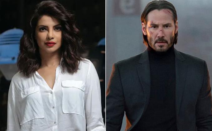 Priyanka đóng Ma trận phần bốn với Keanu Reeves.