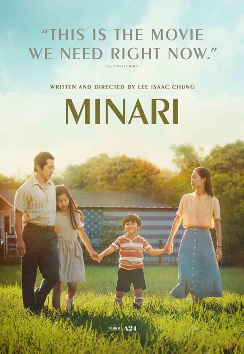 Minari (Khát vọng đổi đời) do hãng A24 của Hoillywood sản xuất nhưng ngôn ngữ chủ yếu là tiếng Hàn, xoay quanh câu chuyện khởi nghiệp và tìm kiếm hạnh phúc của một gia đình gốc Hàn ở Mỹ thập niên 1980. Phim thắng giải Phim nói tiếng nước ngoài xuất sắc tại Quả cầu vàng 2020 và đang tranh giải Phim xuất sắc tại Oscar. Phim ra rạp từ 2/4.