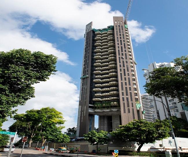Dự án căn hộ cao cấp Eden tại số 2 Draycott Park, Singapore. Ảnh: Swire Properties.