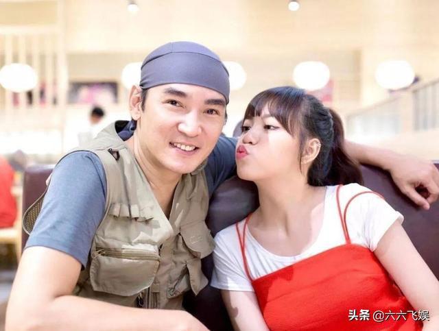 Tiêu Ân Tuấn và con gái lớn.