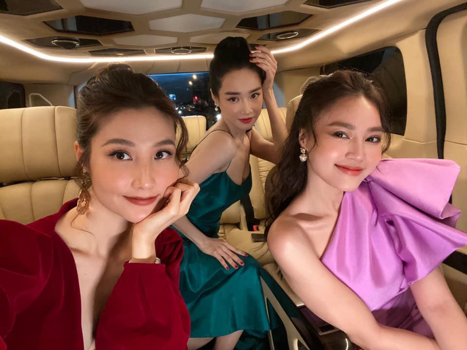 Nhan sắc xinh đẹp của bộ ba ngọc nữ điện ảnh Nhã Phương, Lan Ngọc và Diễm My 9X. Cả ba vừa góp mặt trong phim 1990.