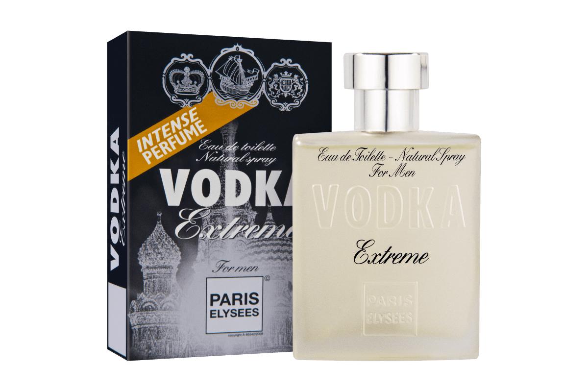 Nước hoa dành cho nam giớiParis Elysees Vodka Extrememàu trắng, thuộc nhóm dương xỉ. Hương đầu gồm cây ngải hương, hương thảo. Hương giữa là hoa phong lữ, cây thông. Hương cuối là mùi xạ hương, cây hoắc hương. Lọ 100 ml đang được giảm 50% còn 585.000 đồng