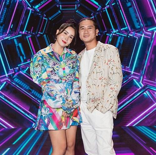 Vợ chồng Hồ Hoài Anh - Lưu Hương Giang rạng rỡ trên sân khấu Giọng hát Việt nhí.