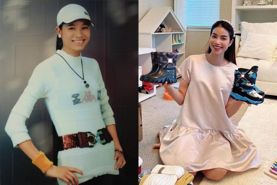 Ánh mắt, nụ cười của hoa hậu Phạm Hương trông không nhiều khác biệt theo năm tháng. Hiện cô rút lui nghệ thuật, định cư ở Mỹ.
