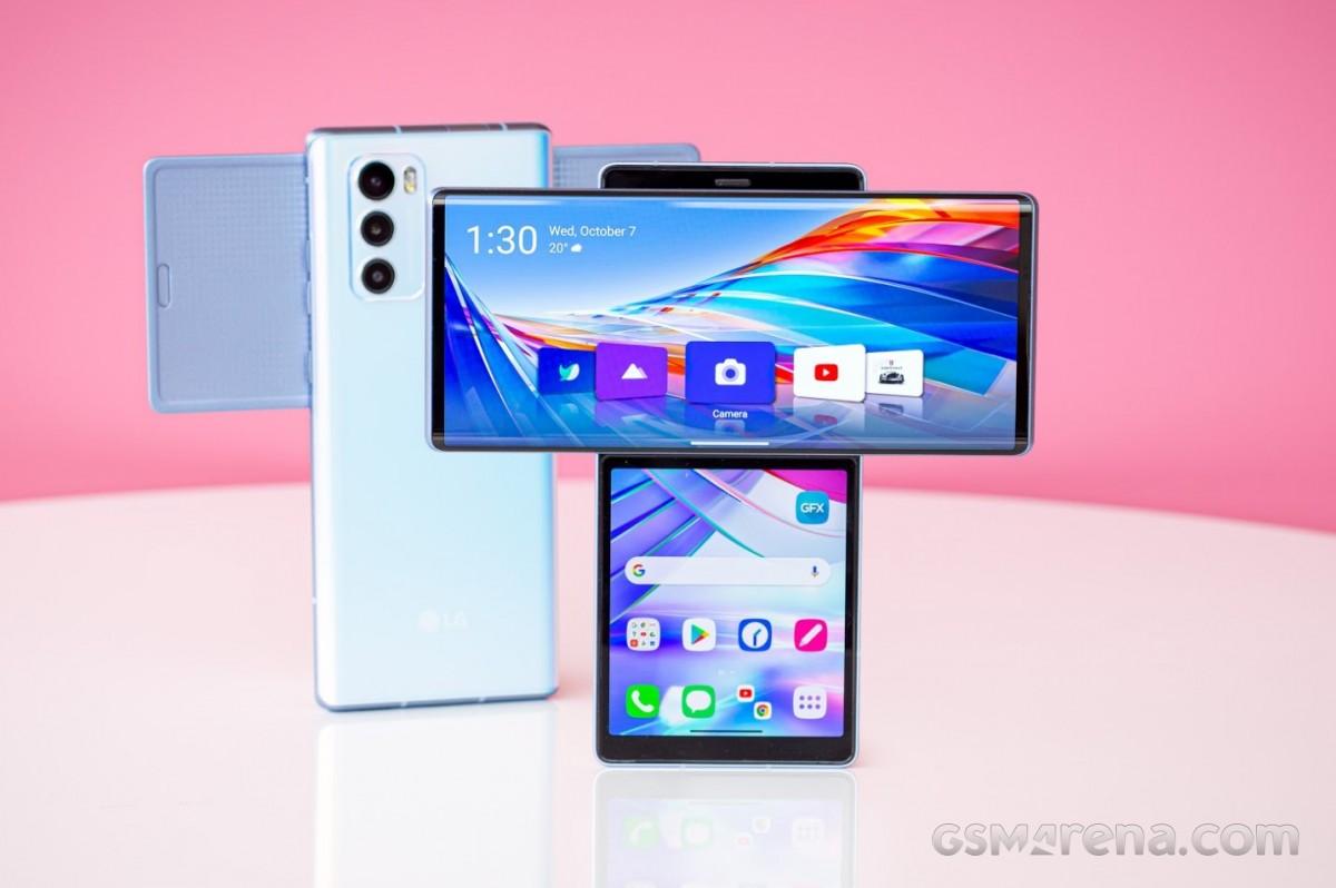 LG Wing với thiết kế độc đáo ra mắt năm 2020. Ảnh: Gsmarena