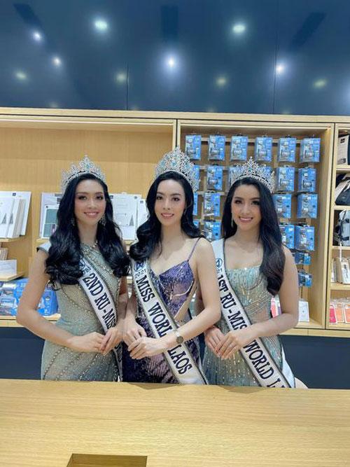 Hoa hậu bị chê kém sắc so với hai á hậu.