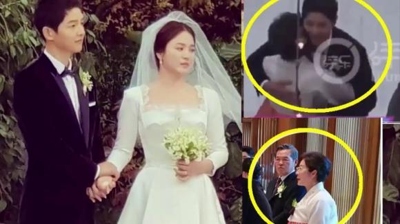 Mẹ ruột Song Hye Kyo rất hiếm hoi lộ diện.