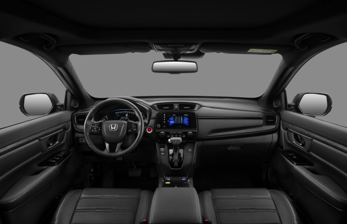 Cabin Honda CR-V LSE.