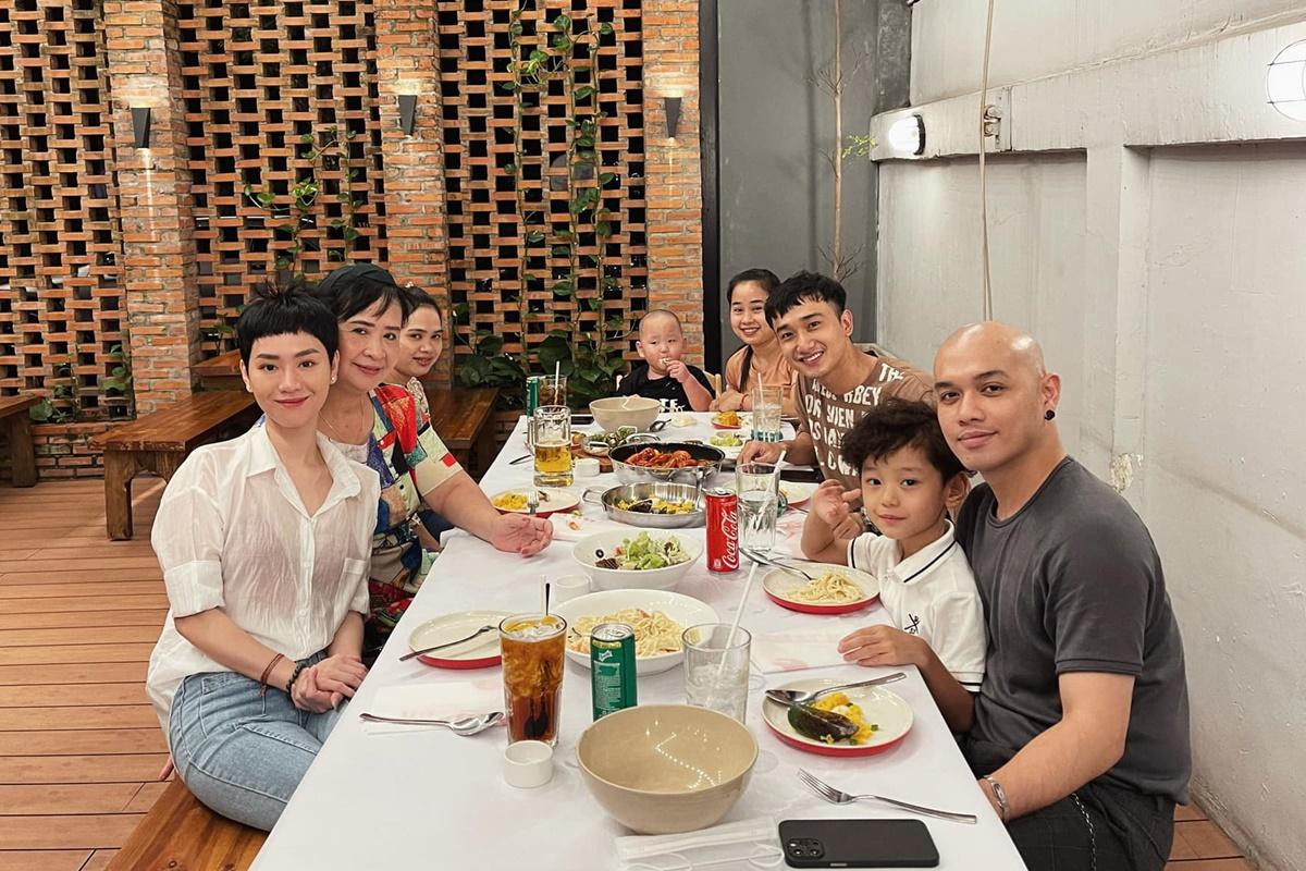 Nhà hàng của Hà Tăng nơi mẹ con Trà My ăn sinh nhật bà ngoại