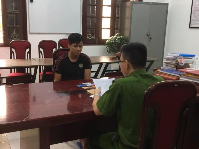 Nguyễn Văn Hào tại cơ quan điều tra.