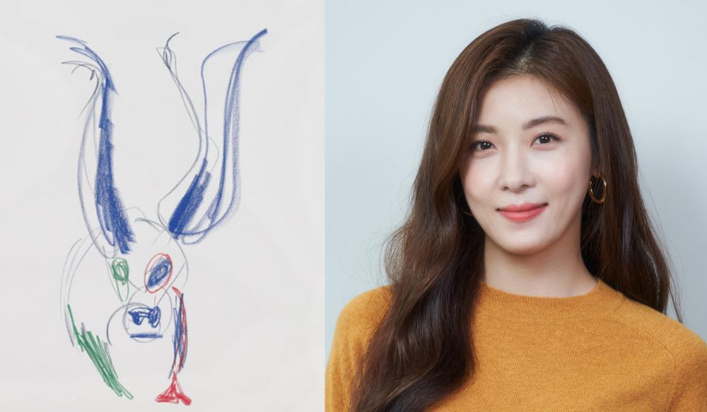 Một tác phẩm hội họa của Ha Ji Won đã được mua.